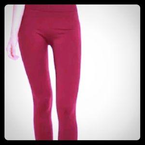 Red Versace Pants